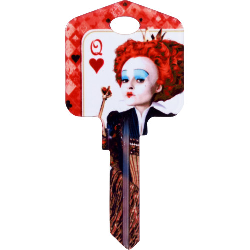 Disney The Red Queen Key Blank Kwikset 66/97 KW1/10