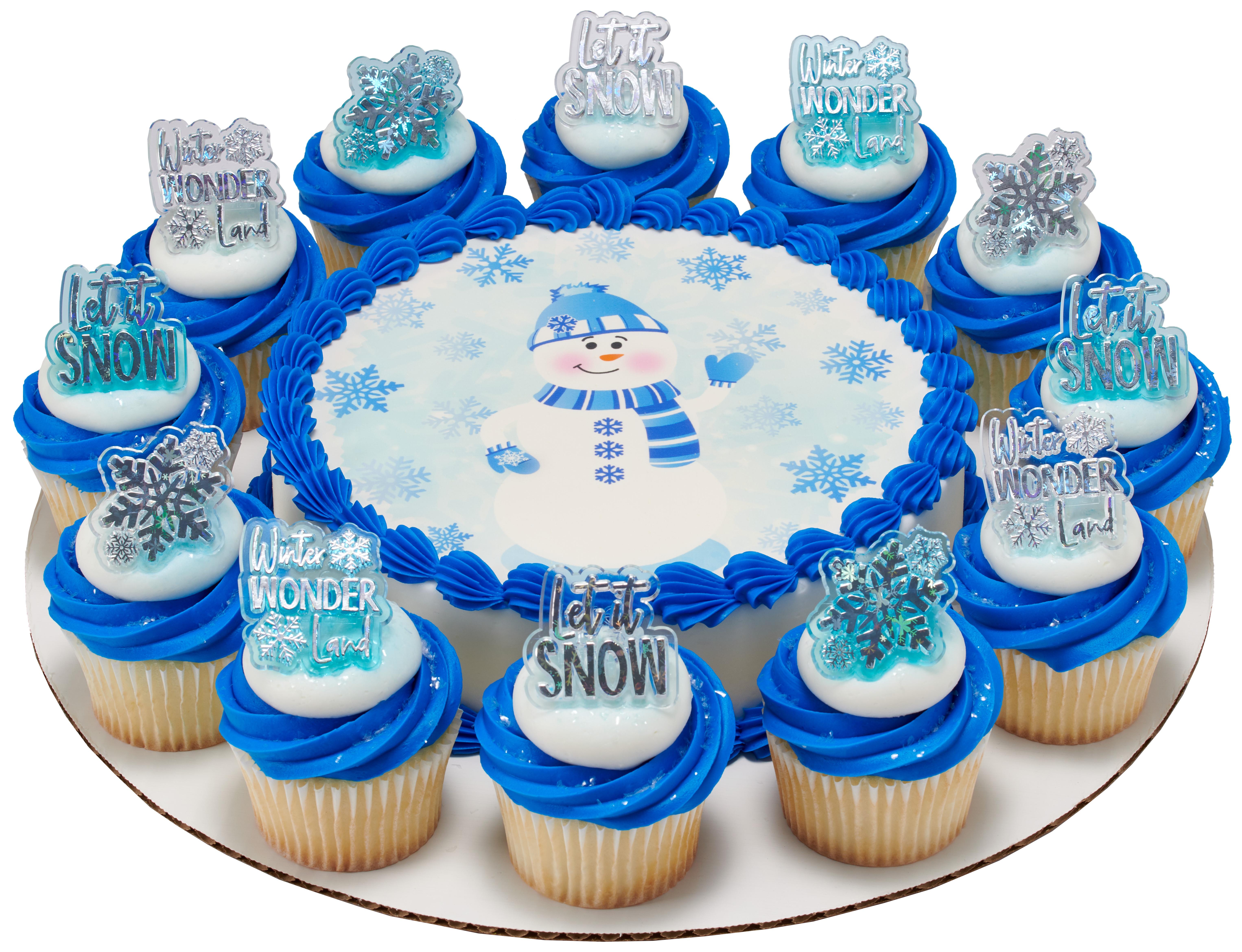 Winter Wonderland Assortment   Cupcake Rings   DecoPac