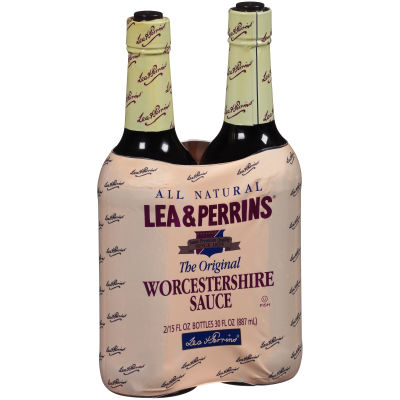 Lea & Perrins Worcestershire Sauce 2 - 15 fl oz Bottles