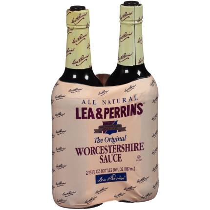 Lea & Perrins The Original Worcestershire Sauce 30 fl oz Twin Pack