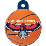 Atlanta Hawks Large Circle Quick-Tag