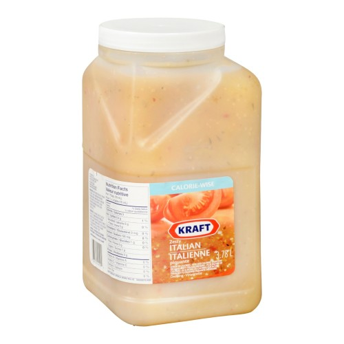 KRAFT Calorie Wise Zesty Italian 3.78L 2
