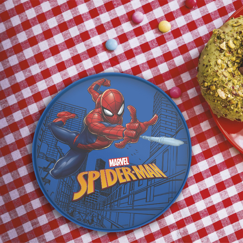 Marvel Comics Kids Dinnerware, Spider-Man, 2-piece set slideshow image 4