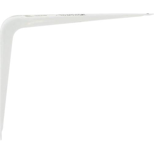 Hardware Essentials Shelf Bracket White (6