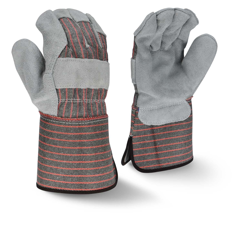 Radians RWG3103G Economy Shoulder Gray Split Cowhide Leather Glove