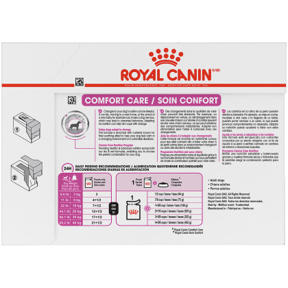 Comfort Care Pouch Dog Food