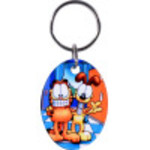 Garfield and Odie Key Chain