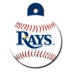 Tampa Bay Rays Large Circle Quick-Tag