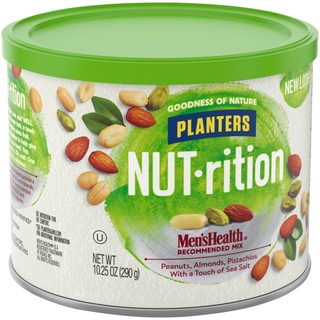 PLANTERS NUT-rition Men's Health Recommended Mix 10.25 oz Can