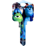Disney Monsters Inc - Mike & Sully University Key Blank