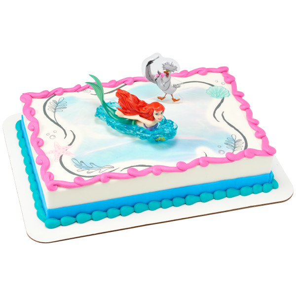 Disney Princess The Little Mermaid Ariel and Scuttle DecoSet®