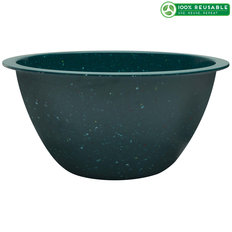 Confetti 7.5 quart Mixing Bowl, Peacock slideshow image 1