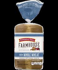 Pepperidge Farm® Farmhouse™ 100% Whole Wheat Bread(toasted, if desired)