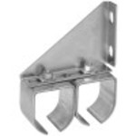 Hillman Adjustable Double Round Rail Bracket