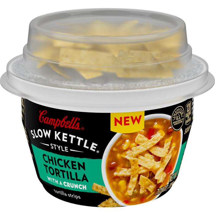 Chicken Tortilla Soup with Tortilla Strips
