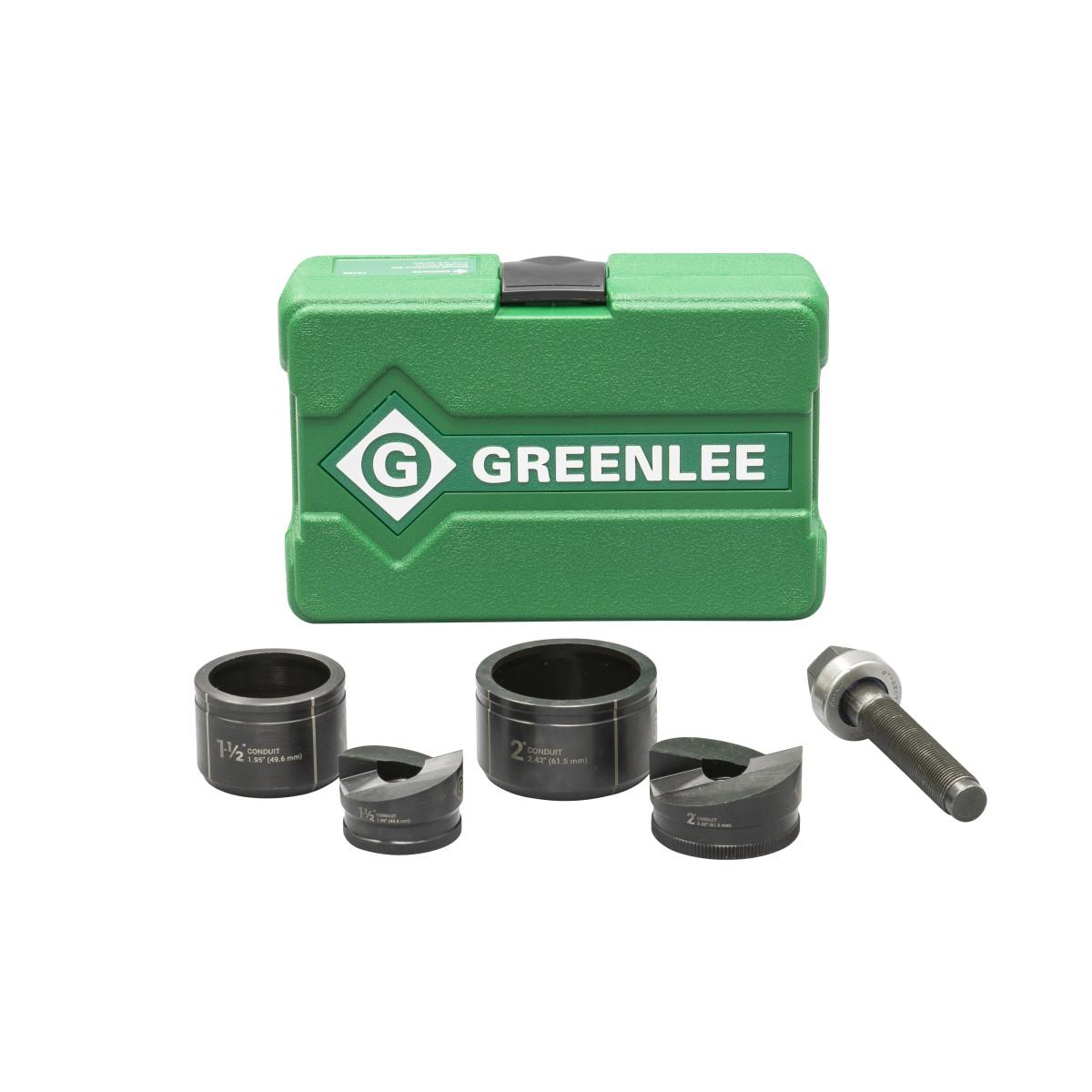 """Greenlee 7237BB Punch & Die Set 1-1/2"""" to 2"""""""