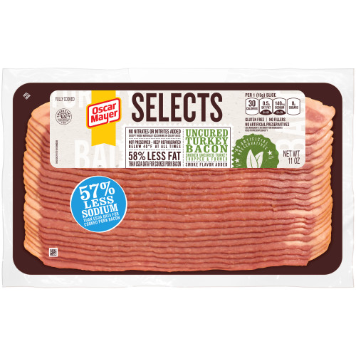 Oscar Mayer Selects Uncured Turkey Bacon 11 oz