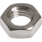 Stainless Steel Hex Jam Nuts