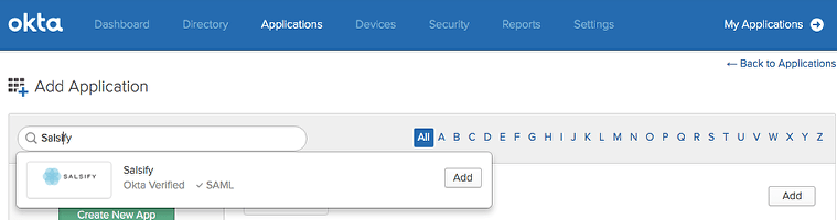 Configuring SSO with Okta