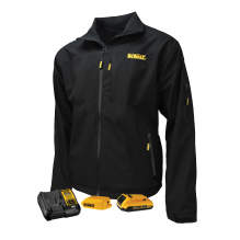 DEWALT® Men's Heated Structured Soft Shell Jacket