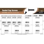 """Button-Head Socket Cap Screws Assortment (#10-32 thru 3/8""""-24 Thread)"""