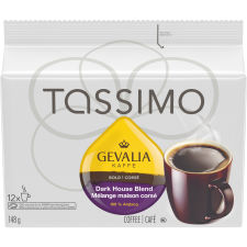 Tassimo Gevalia Dark Roast Coffee Single Serve T-Discs