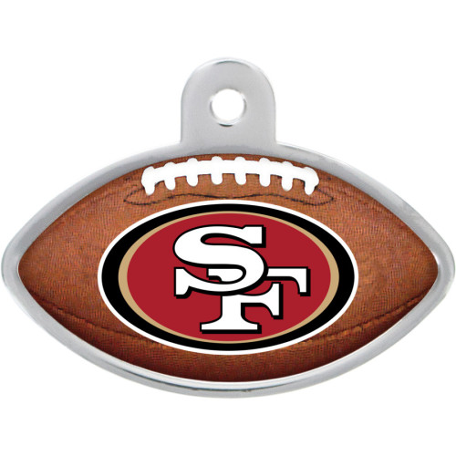 San Francisco 49ers Large Football Quick-Tag 5 Pack