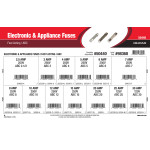 Electronic & Appliance Fuses Assortment (ABC Fast-Acting Fuses)