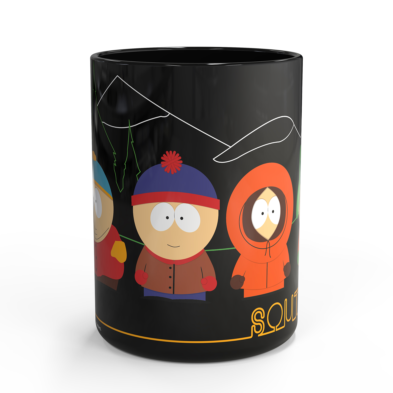 South Park 15 ounce Coffee Mug, Cartman, Kenny & Kyle slideshow image 3