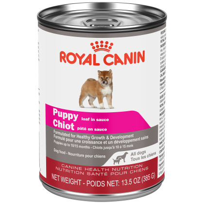 Royal Canin Canine Health Nutrition Puppy Loaf Canned Dog Food