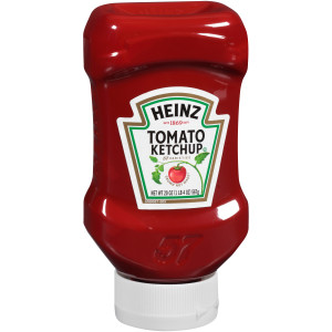 HEINZ Ketchup FOREVER FULL Inverted Bottle, 20 oz. (Pack of 12) image