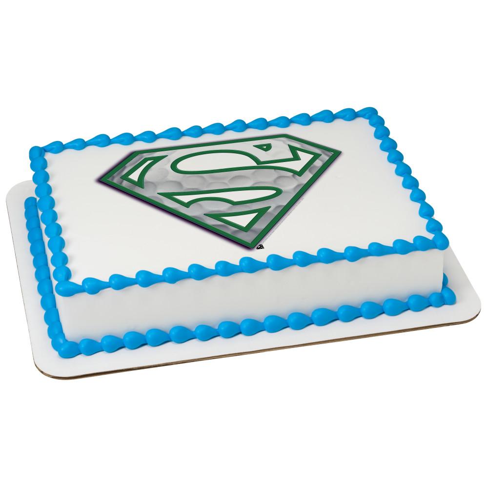 Superman™ Golfing Superman