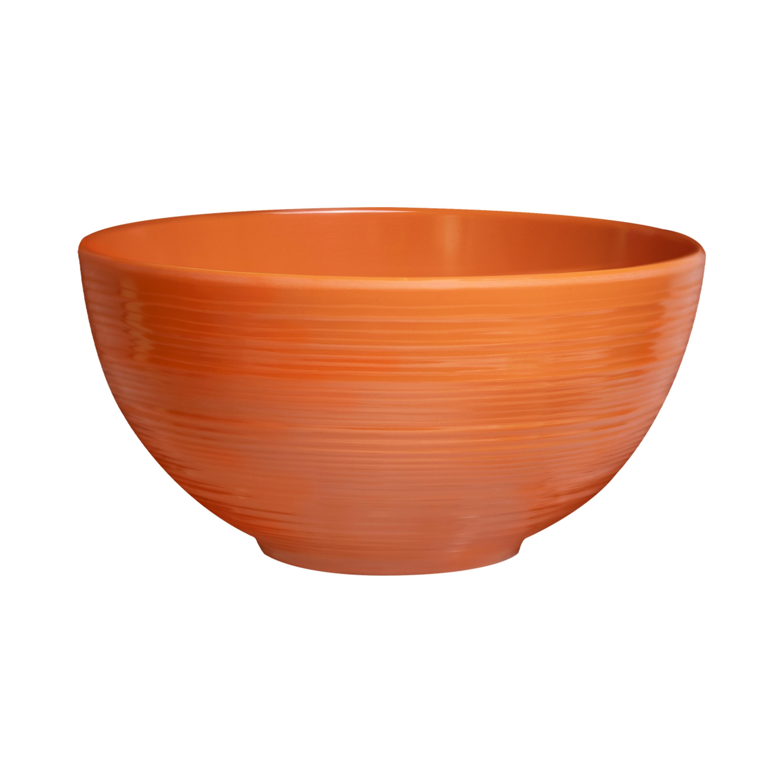 American Conventional Plate & Bowl Sets, Orange, 12-piece set slideshow image 2