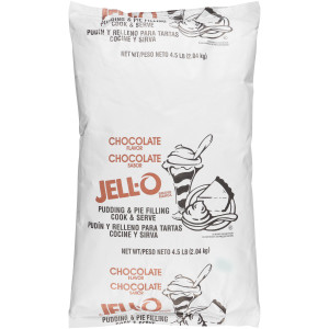 JELL-O Chocolate Pudding & Pie Filling, 72 oz. (Pack of 6) image