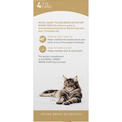 Maine Coon Adult Thin Slices in Gravy Canned Cat Food
