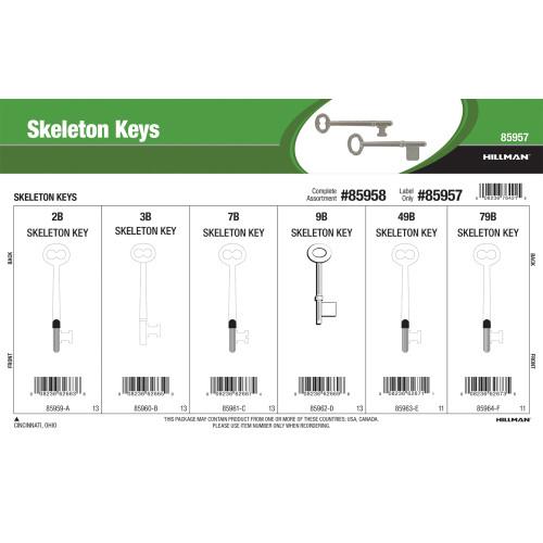 Skeleton Key Assortment