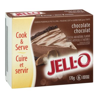 Jell-O Instant Pudding and Pie Filling, Chocolate