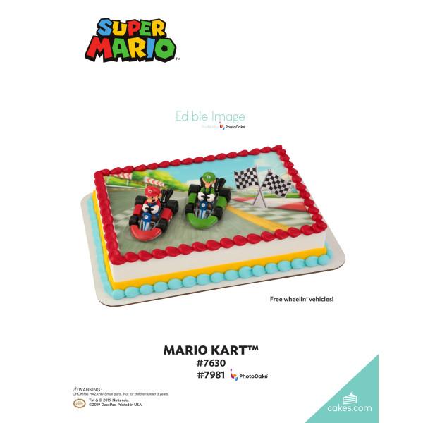 Super Mario™ Mario Kart™ DecoSet® The Magic of Cakes® Page