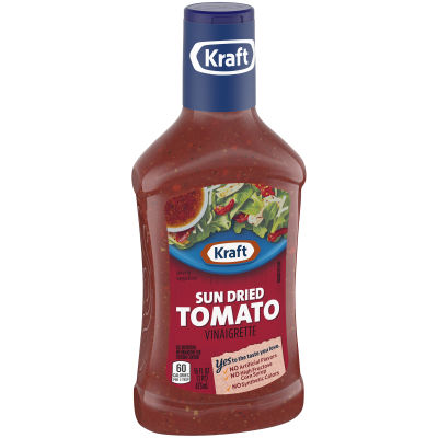 Kraft Sun Dried Tomato Vinaigrette Dressing 16 fl oz Bottle