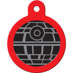 Star Wars Death Star Large Circle Quick-Tag