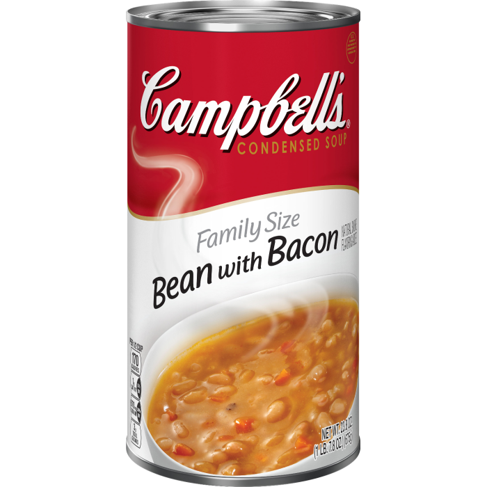 Family Size Bean with Bacon Soup
