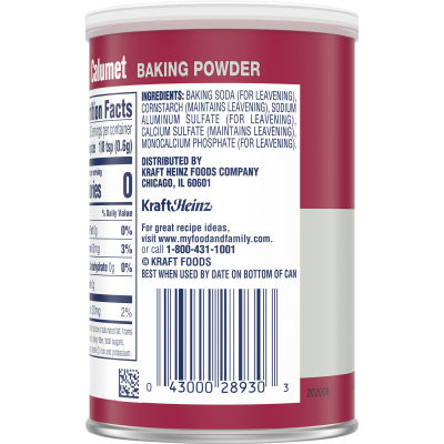 Calumet Baking Powder, 7 oz Canister
