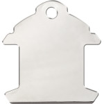 Chrome Large Fire Hydrant Quick-Tag