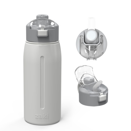 Genesis 24 ounce Vacuum Insulated Stainless Steel Tumbler, Gray