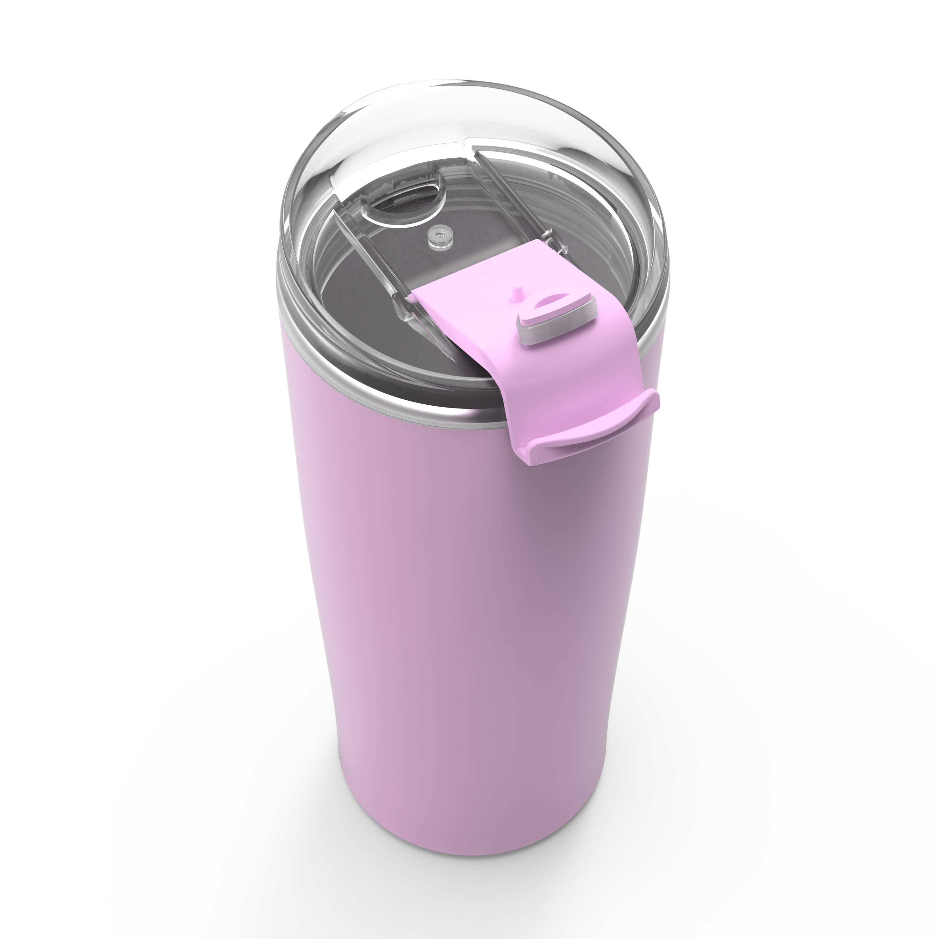 Aberdeen 20 ounce Vacuum Insulated Stainless Steel Tumbler, Lilac slideshow image 4