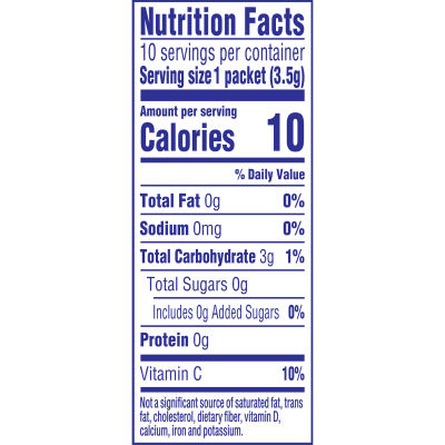 Crystal Light On-the-Go Sugar-Free Cherry Pomegranate Drink Mix, 10 - 0.11 oz Packets