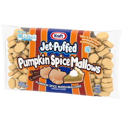 Kraft Jet-Puffed Pumpkin Spice Marshmallows 8 oz Bag