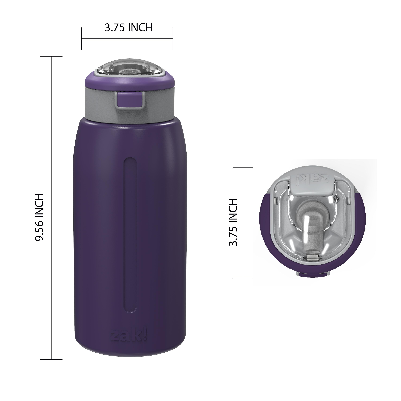 Genesis 32 ounce Stainless Steel Water Bottles, Viola slideshow image 8