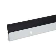 Swatch for Duck® Brand Aluminum Door Bottom Seal - White, 1.625 in. x 36 in.