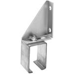 Hillman Box Rail Bracket Face Mount Single Adjustable